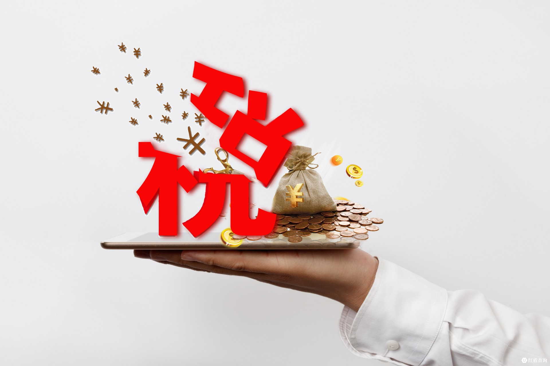 摄图网_500457896_banner_商务男士手上的税务压力(企业商用)